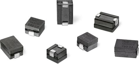 high current high inductance inductors we hcm smd high current flat wire inductor single coil power inductors wurth electronics