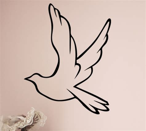 Stickers For The Wall dove decal