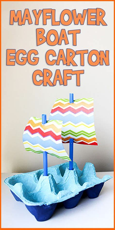 egg carton boat 26 recycled egg carton crafts for kids