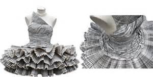 vestido manualidades de papel periodico vestidos hechos con papel de diario las manualidades car