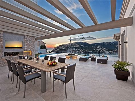 outdoor dining areas beautiful villa with views of port d andratx