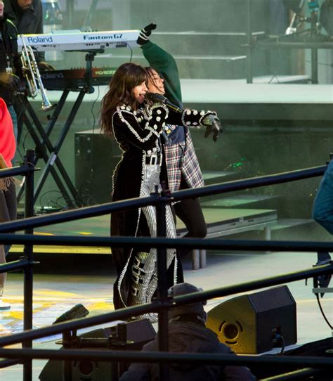 new year performances nyc camila cabello rehearses for new years performance at
