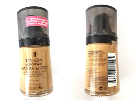 Revlon Airbrush Foundation revlon photoready airbrush effect makeup foundation review