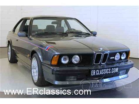 bmw classic for sale classic bmw 635csi for sale on classiccars 3 available