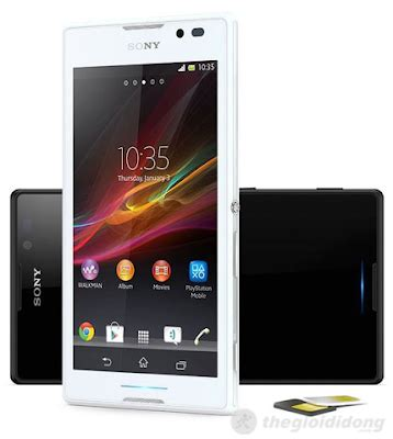 sony xperia c c2305 priced at about $ 300, sample 2 sim, 2