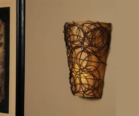 Design For Battery Powered Wall Sconce Battery Powered Fluted Led Wall Sconce Decoist