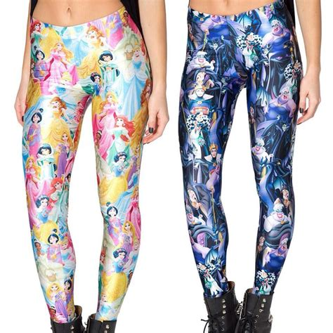 Disney Legging this disney clothing line for grown ups will make you look stupid