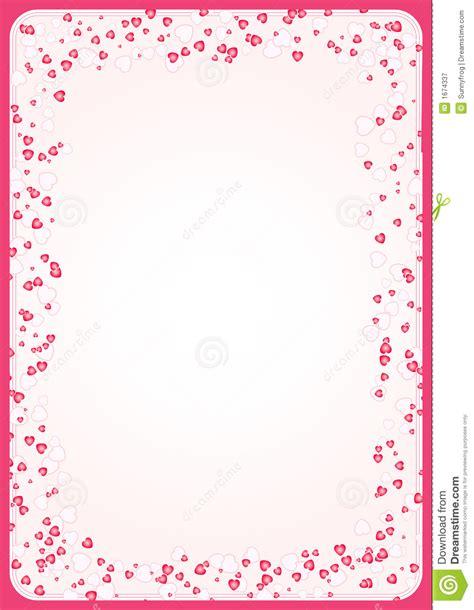 Bonia Segi achtergrond met harten vector royalty vrije stock