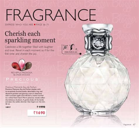 Parfum Oriflame Precious Moment oriflame catalogue july 2013