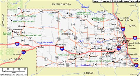 road map of nebraska usa nebraska highway map arkansas map