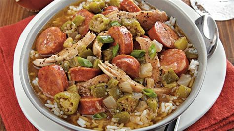 cooker chicken and sausage gumbo recipe