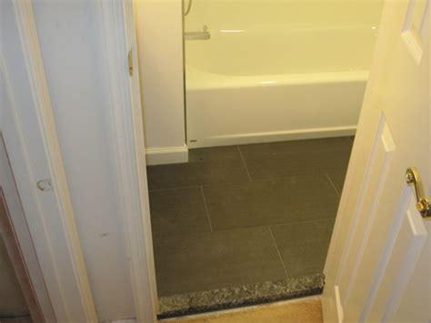 bathroom door saddle show me your bathroom door saddles