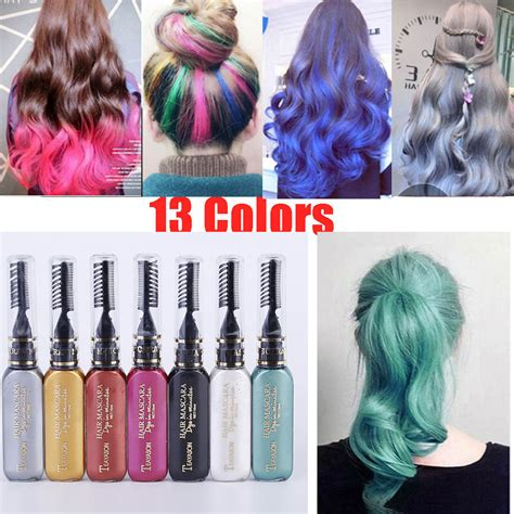 temporary hair color diy 13 colors one time hair color diy hair dye temporary non
