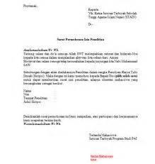 contoh cara membuat surat keterangan permohonan izin sakit