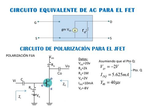 transistor bjt analisis en ac electronica analisis a peque 241 a se 241 al fet