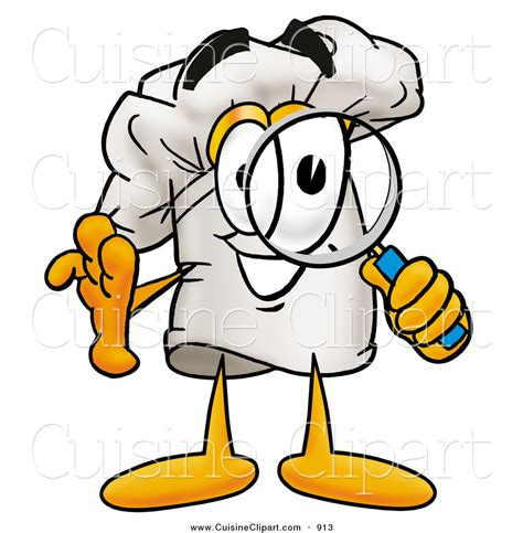 cuisine clipart of a chefs hat mascot character