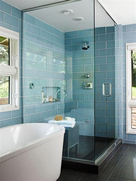 blue tiles for bathroom glass tile bathroom pictures modern world furnishing