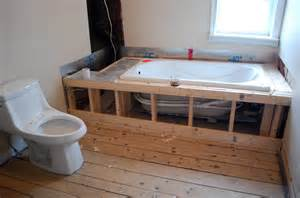 bathtub framing framing for a bathtub 28 images this bathtub has the ducky approval emergency