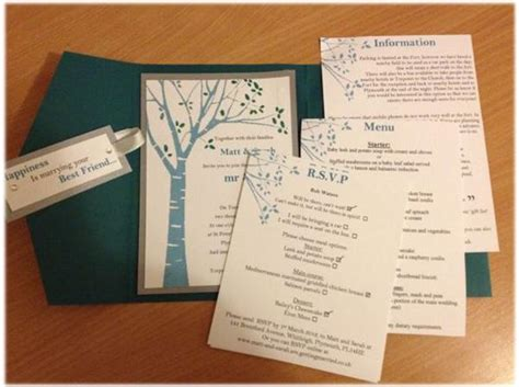 Simple Handmade Wedding Invitations - simple diy wedding invitations vertabox