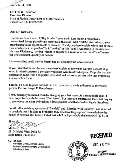 Parking Ticket Dispute Letter Format Appeal Letter For College New Calendar Template Site