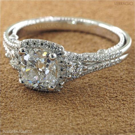 gorgeous verragio engagement ring rings