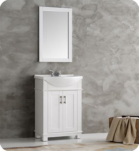 bathroom vanities hartford ct fresca fvn2302wh cmb hartford 24 quot white traditional