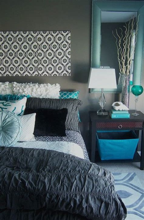 turquoise and gray room 1000 ideas about gray turquoise bedrooms on apartment bedroom decor grey bedrooms