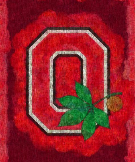canvas osu ohio state buckeyes on canvas painting by dan sproul