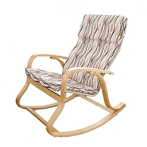 Fabric Rocking Chair by Sobuy 174 Comfortable Relax Chair Rocking Chair Lounge Chair