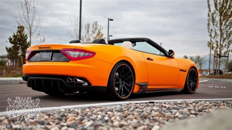 maserati orange image gallery orange maserati
