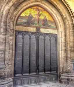 The Wittenburg Door by Commemorate Note Celebrate Mourn The Twelve