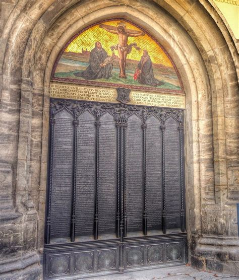 church s thesis martin luther s 95 theses s world travel inspiration