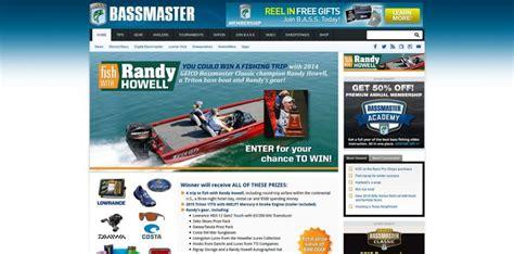 Bassmaster Sweepstakes - bassmaster fish with randy howell sweepstakes bassmaster com fishwithrandy
