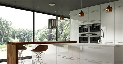 transform your kitchen with white transform your kitchen with high gloss fascias in the