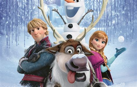 Walt Disney Kingdom Hearts Iphone Semua Hp wallpaper snow snowflakes deer snowman frozen princess kingdom walt