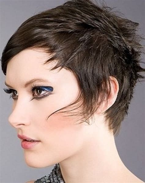 very short punk asymmetrical hairstyles for women on pinterest short punk hairstyles for women circletrest