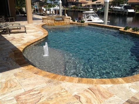 Pebble Tec Patio by Blue On