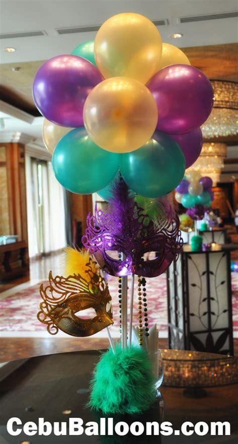 masquerade decorations centerpieces masquerade centerpiece cebu balloons and supplies
