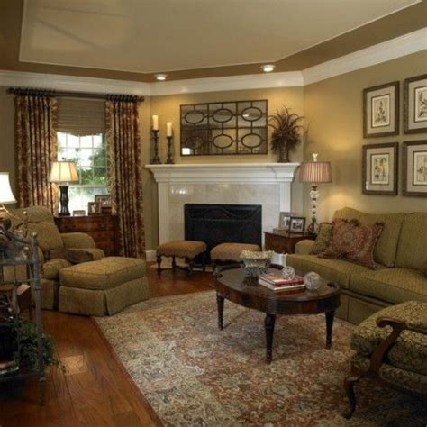 Paint Colors For Family Room With Fireplace by Corner Fireplace Living And Family Rooms