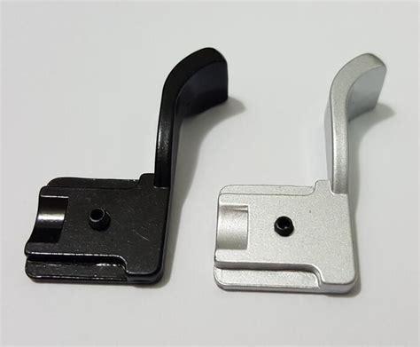 Shoe Thumb Up Grip Black metal black shoe adapter thumb grip for fujifilm x100 x100s x100t x70 x e1 x e2 gx7