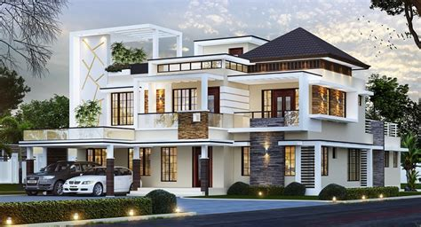 3500 square foot house 3500 square feet double floor contemporary home design
