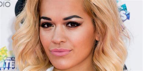 what lipstick does rita ora wear 20 times rita ora wasn t wearing red lipstick huffpost