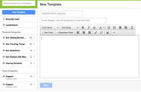 All Things Templates Yesware Blog Yesware Blog How To Create A Fillable Email Template In Outlook