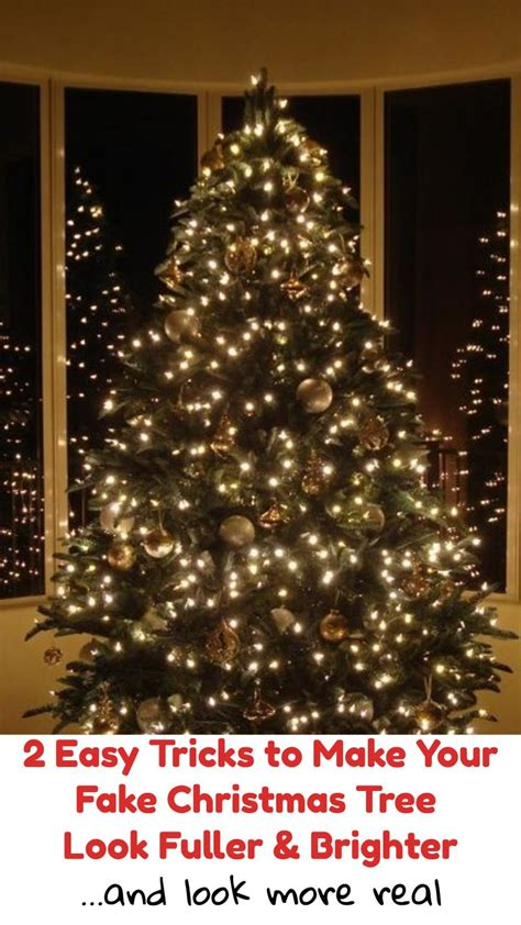 riddles for a fake christmas tree 2 easy tricks to make your tree look fuller brighter and more real easy tricks