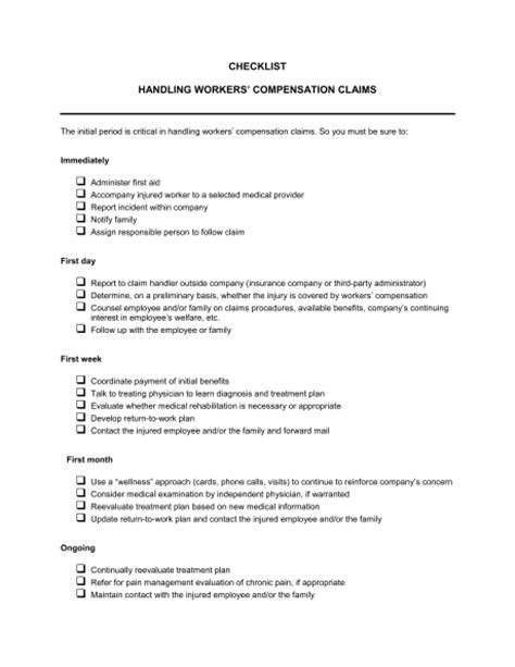 Compensation Claims Workers Compensation Claims Exles Compensation Template