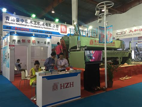 woodworking machinery exhibition qingdao haozhonghao machinery china best woodworking