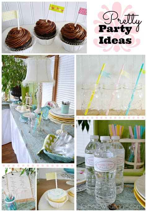 budget bridal shower decor and ideas cottages decor and