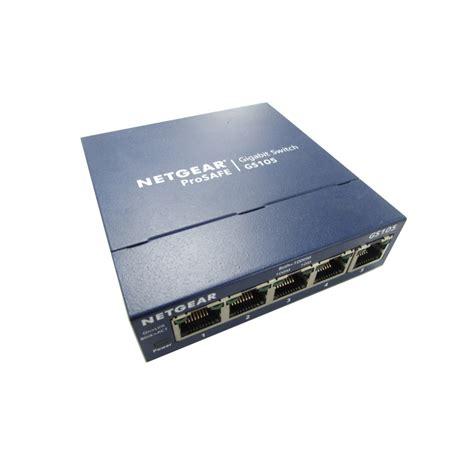 netgear prosafe 5 gigabit switch gs105 netgear gs105 v5 prosafe 5 gigabit switch no psu 10