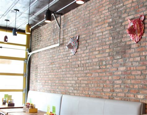 Industrial Pendants Lend Recycled Charm To Burger Commercial Lighting Fixtures For Restaurants