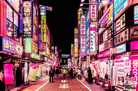 designboom tokyo tokyo s neon drenched cityscapes celebrated in new photo